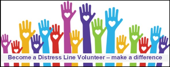Volunteering with the Distress Line