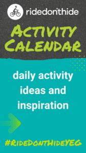 Activity Calendar - daily activity ideas and inspiration