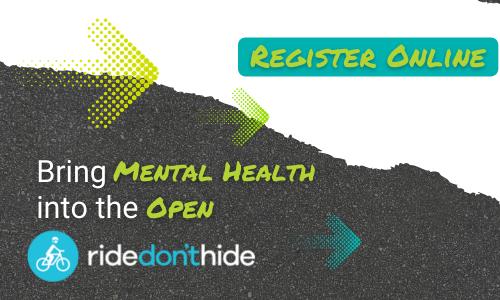 Ride Don't Hide, Register online